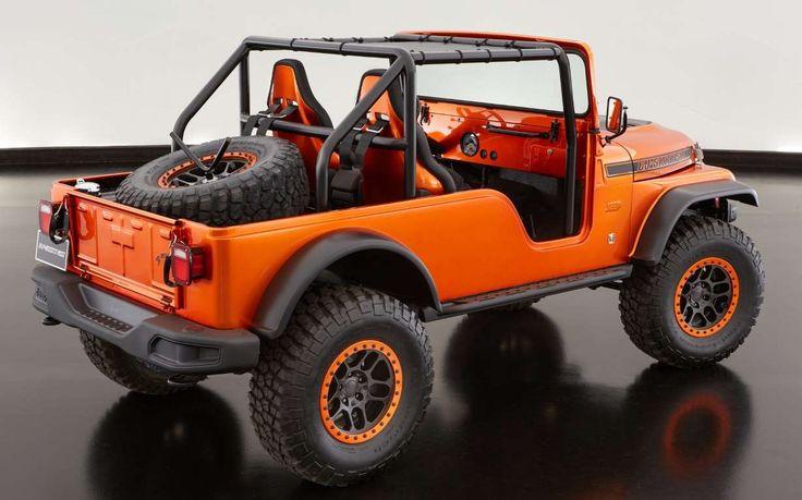 Jeep CJ66 Concept - Fiat Chrysler Automobiles