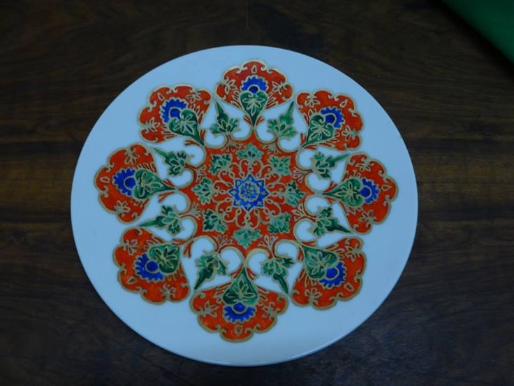Ceramic Art | https://www.facebook.com/ZakharefArts | #indian #pattern