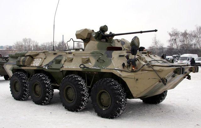 El Ejército del Perú evalúa en Rusia los blindados BTR-80 y BTR-82A-noticia defensa.com