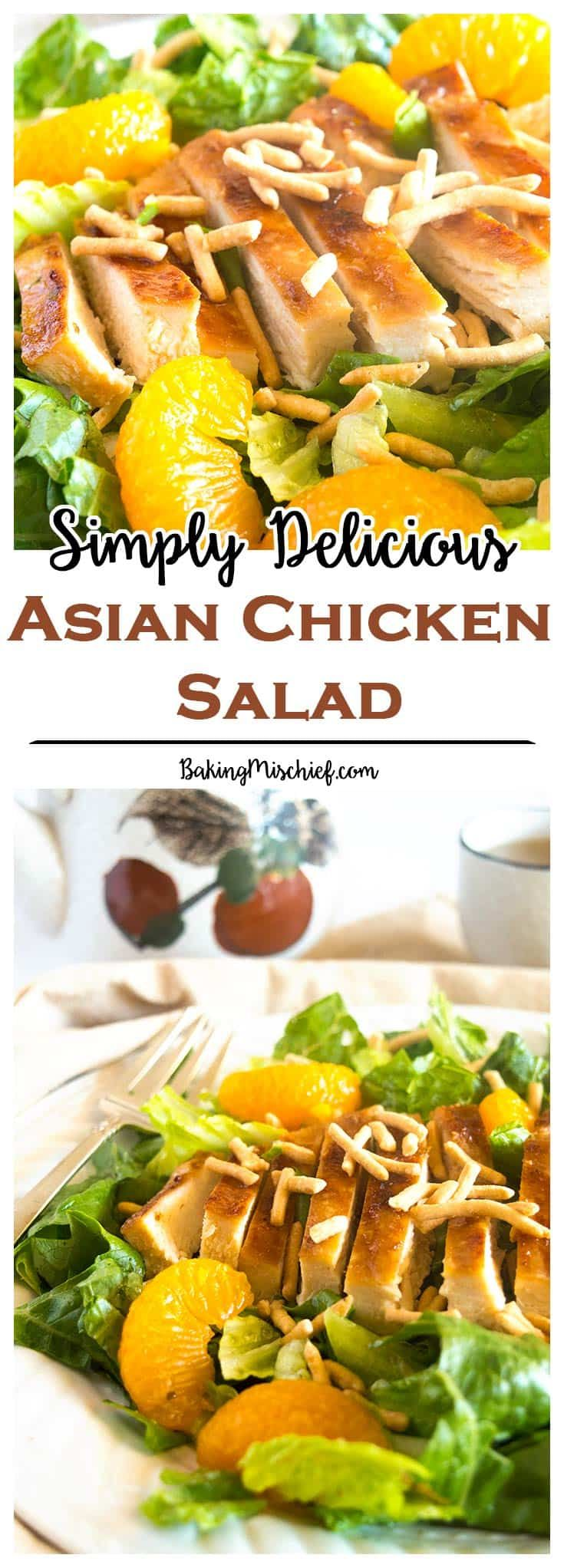 Simply Delicious Asian Chicken Salad