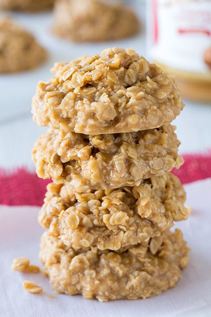 If you like cookie butter, you will love these Biscoff No Bake Cookies!