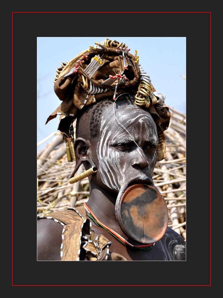 Ethnie Mursi