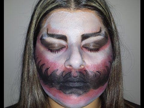Halloween Makeup: Devil Look