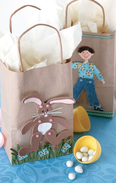 163 best gift bags images on pinterest gift bags hand made easter craft easy to make gift bag http negle Gallery