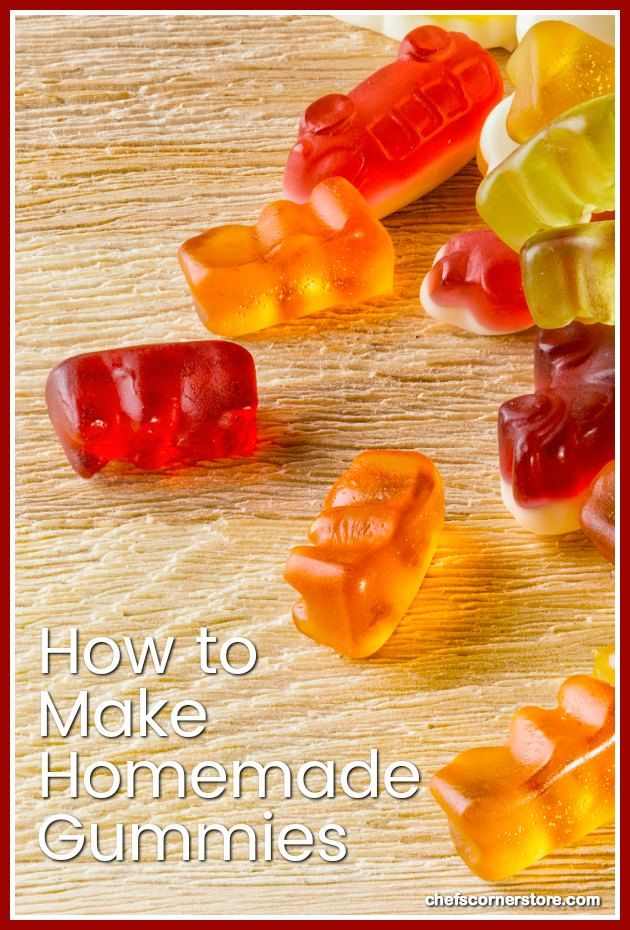 How to make homemade gummies with gelatin