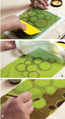 Free ebook - Techniques for Printing on Fabric: Free Tutorials for DIY Screen Printing, Monoprinting, and More