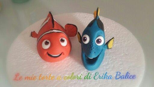 Dory and Nemo fondant