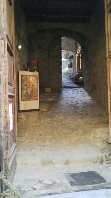 la galleria nella navata