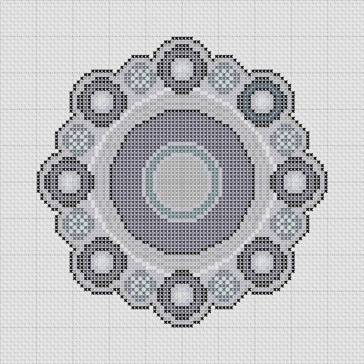 Borduur patroon Zeeuwse Knop
