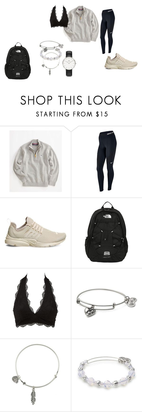 """""""school"""" by adrianagonzalez-t on Polyvore featuring Vineyard Vines, NIKE, The No… – Fashion"""