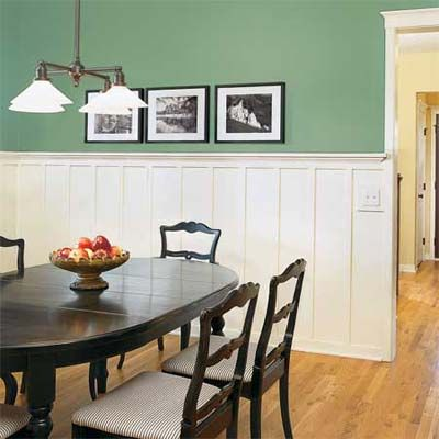 101 best molding wainscoting images on pinterest for Wainscoting designs dining room