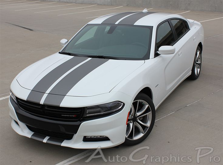 2015-2016 Dodge Charger Vinyl Graphics Decal  Stripe Packages Kits
