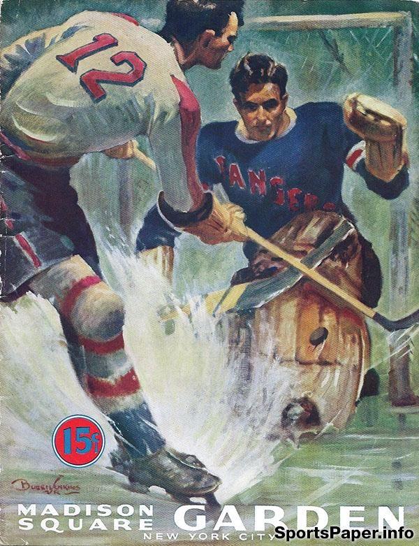 NHL Program: New York Americans (1940-41)
