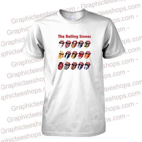 Rolling Stones Stadium Tongue Tour t shirt
