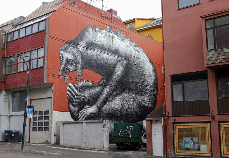 Bodo Street Art, a great way to see the arty side of Scandinavia and this particular piece, is the largest piece of street art in northern Norway, read more about it on our blog: http://bit.ly/1J1V1pd