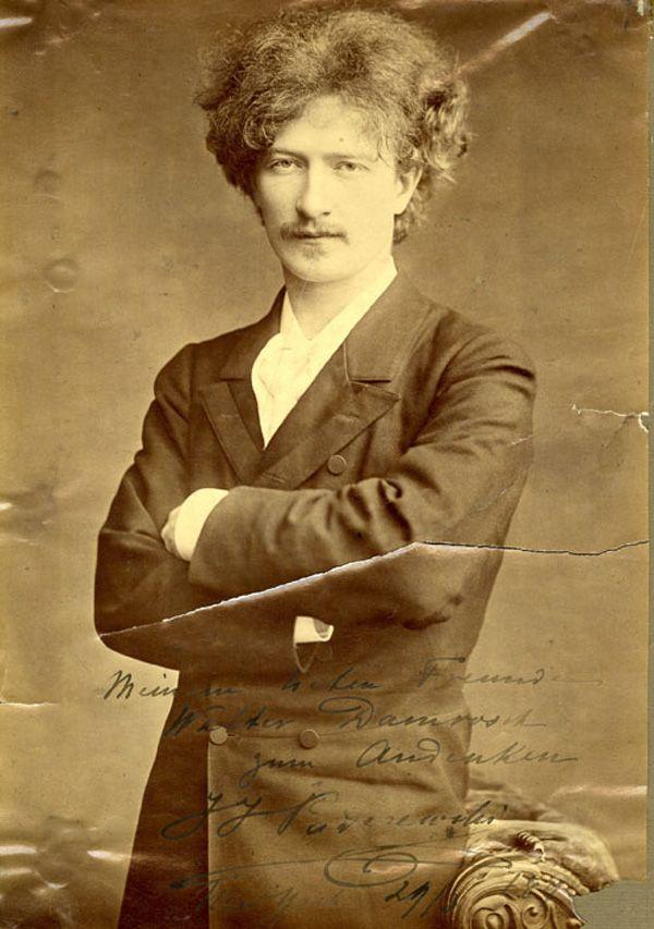 Ignacy Jan Paderewski!