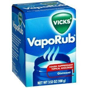 Vicks Vapo Rub Value Pack Two 3.53oz Ointment Plus One Vapor Inhaler by Procter & Gamble. $24.07. Manufacturer's Description- VapoRub As fast as you can open a jar of Vicks VapoRub, you can begin to experience the feeling of freer breathing. Soothing vapors inhaled into the nose and throat relieve nasal congestion and coughs due to colds. VapoRub is applied externally to the chest or throat, so it doesn't interact with other medication the way pills can, and is not likel...