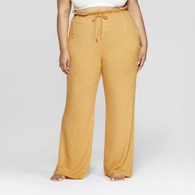 Women S Plus Size Wide Leg Lounge Pajama Pants Colsie