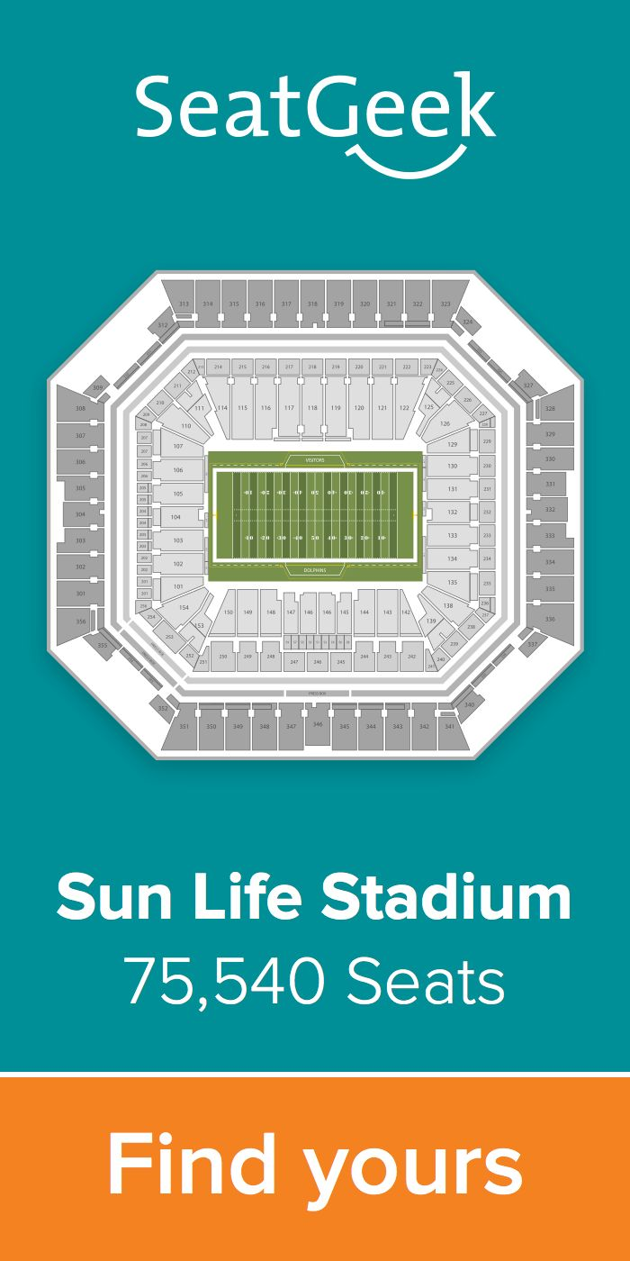 The best deals for Dolphins tickets are on SeatGeek!