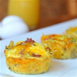 Bird's Nest Breakfast Cups