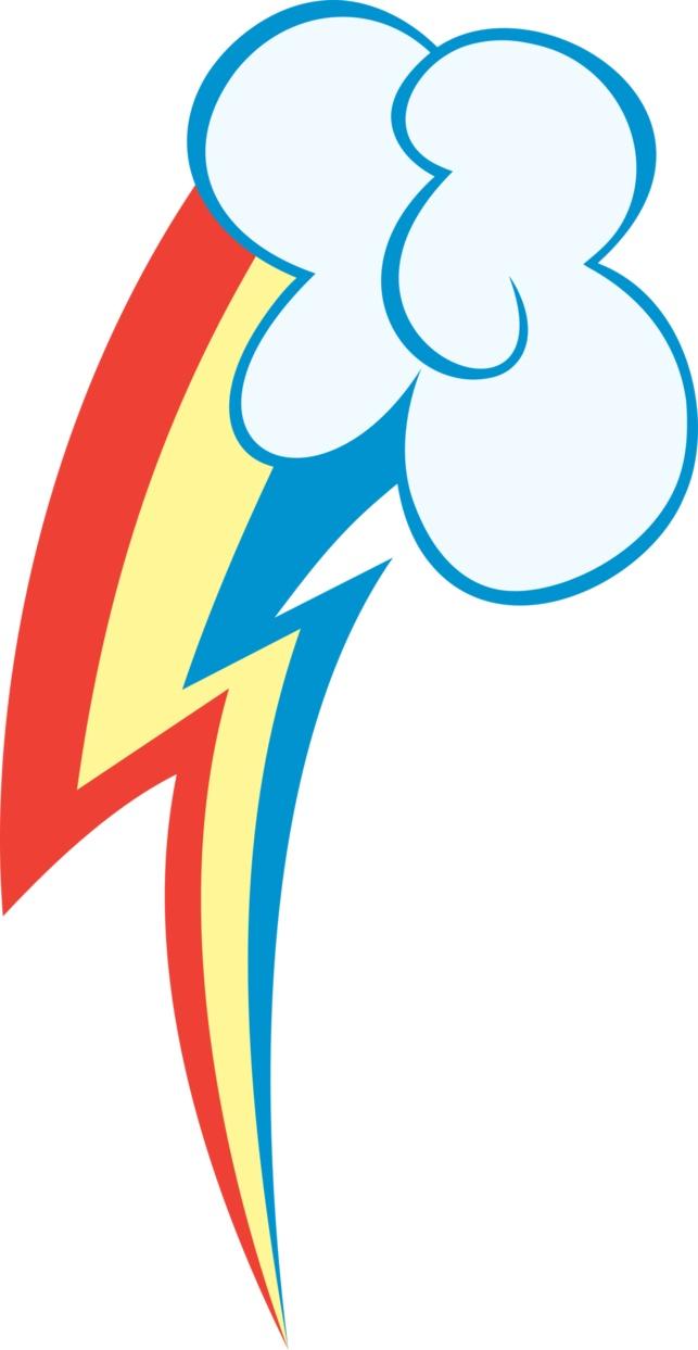 Rainbow dash cutie mark coloring page - Rainbow Dash Cutie Mark By Hawk9mm On Deviantart