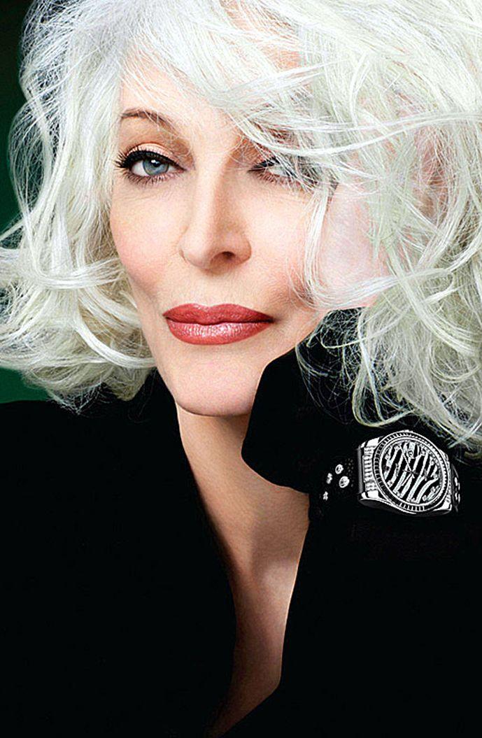 via fashioned by love | Carmen Dell'Orefice Rolex campaign