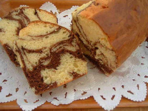 ホットケーキミックスで☆マーブルケーキの画像