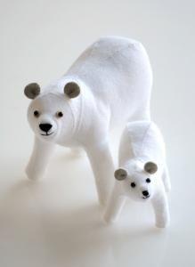 purl soho   products   item   small animal felt kits (sunfelt handicraft)