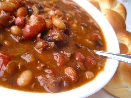 gourmet bean soup