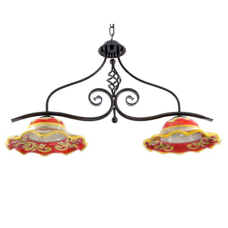 Lampadari In Ceramica Di Caltagirone.Lampadari In Ceramica Idea Immagine Home