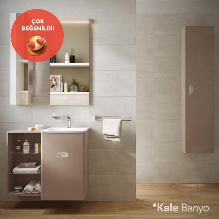 Küçük banyolar için bol depolama alanı sunan Little Big mobilya serisi bu haftanın en beğenilen ürünü oldu! #çokbeğenildi 😍