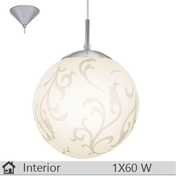Pendul iluminat decorativ interior Eglo, gama Rebecca, model 90742 http://www.etbm.ro/eglo