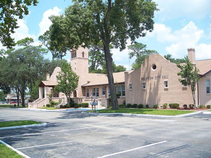 Belleview School in Marion County, Florida.
