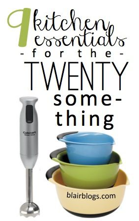 It's not cheap to stock a kitchen when you're first starting out in the real world. Here are the top 9 things you really need to start a functional kitchen on a budget!