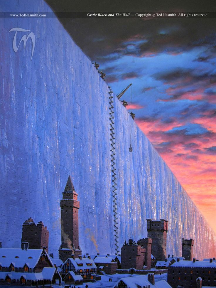 castle black and the wall - Game of Thrones