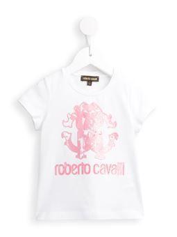metallic logo T-shirt