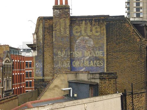 Ghost Sign Spitalfields
