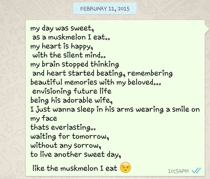 its funny how I let my words flow while eating muskmelon.. lol.. :p poem by crazy me!!