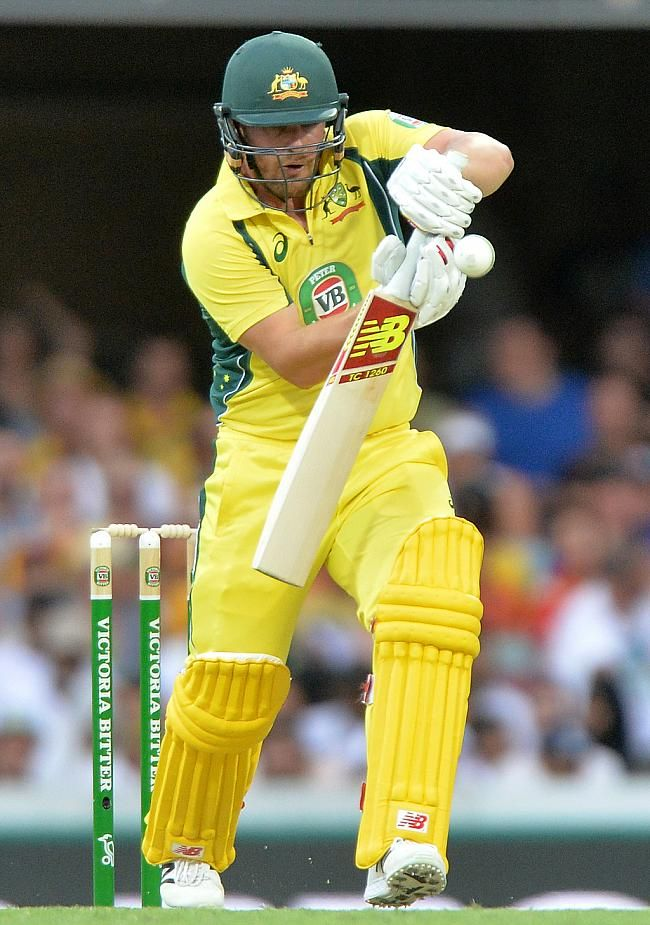 Aaron Finch scored a fine fifty to get Australia off to a good start