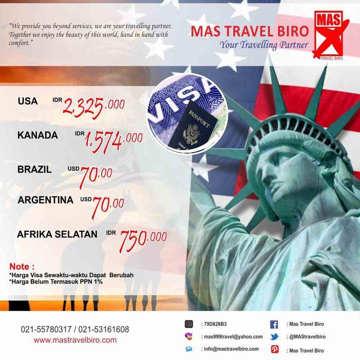 Kami dapat membantu travelers, dalam pembuatan Visa. Info: 021-55780317 / 021-53161608