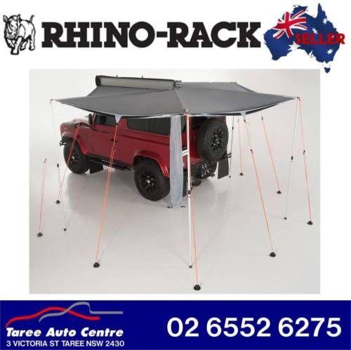 Rhino Roof Rack Foxwing ECO 2 1 Awning Small TO Medium Suvs Utilities 31117 | eBay