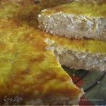 Французский луковый пирог. Ингредиенты: мука, сметана жирная, сливочное масло | Официальный сайт кулинарных рецептов Юлии Высоцкой