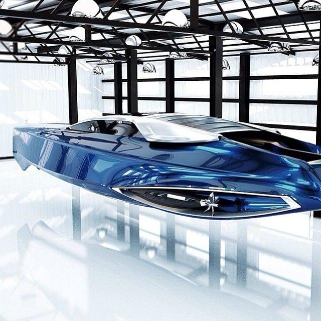 Sneak peek of the Rolls Royce Boat