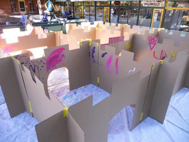 cardboard maze for kids - Google Search