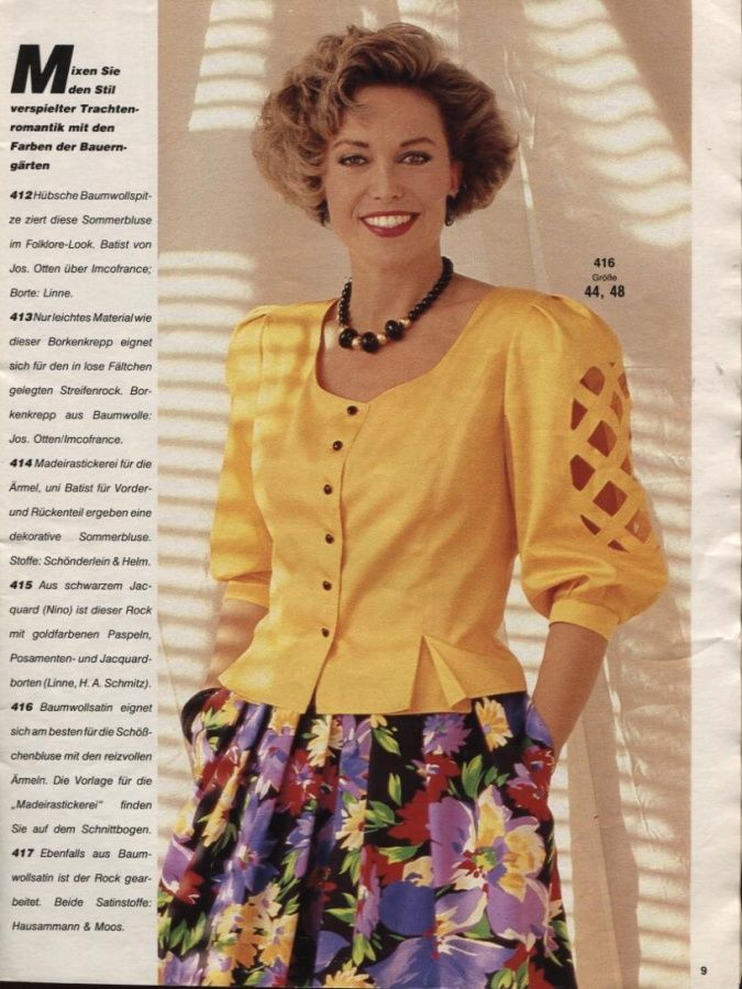 BURDA SPECIAL 1986