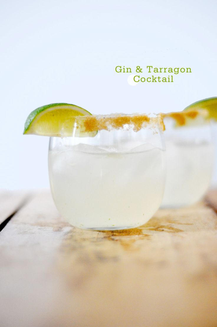 Gin and Tarragon Cocktail - @Zachary Richard Richard Richard Richard Munger I think you would enjoy these!