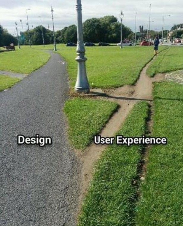 """User Experience should be more about the intent than the rendering."" Great post."