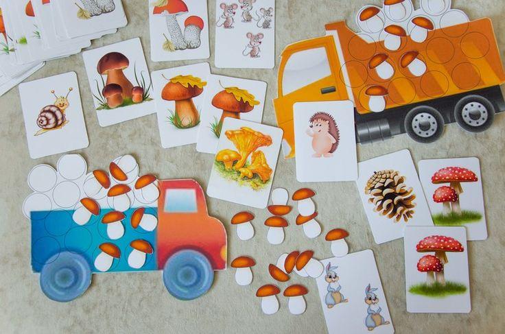 "Математическая игра ""Грузовик с грибами"" (раздача) - Раннее развитие - Babyblog.ru"