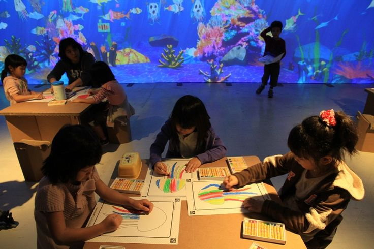 Sketch Aquarium | Learn and Play! teamLab Future Park