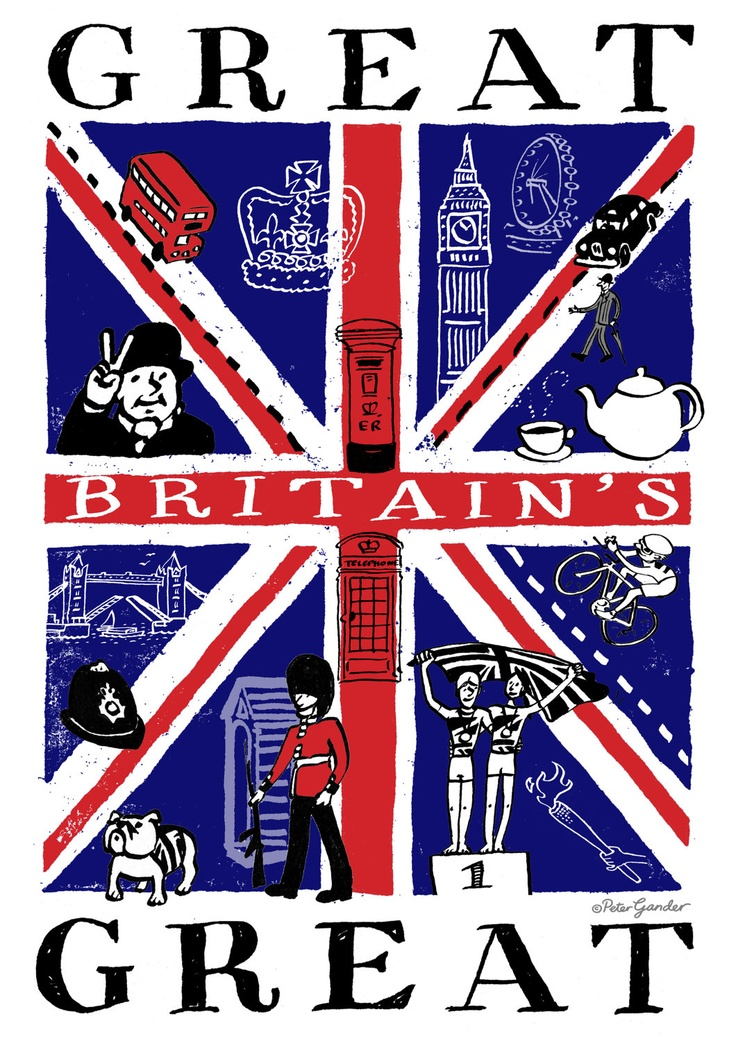 Great Britains Great numbered limited edition A4 print of 100. £20.00, via Etsy.